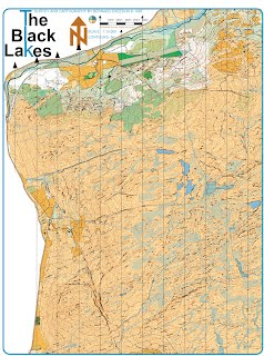 Black Lakes Early Map